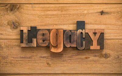 Is legacy too big or too strong of a word for you?
